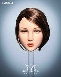 Maple Female Head Sculpt (Short Brunette Hair)<BR>PRE-ORDER: ETA Q4 2020