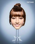 Malus Female Head Sculpt (Auburn Hair in Bun)<BR>PRE-ORDER: ETA Q4 2020