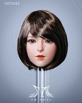 Tatum Female Head Sculpt (Short Brunette Hair)<BR>PRE-ORDER: ETA Q1 2021