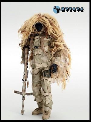 Dcu Sniper Uniform Set Ghillie Suits Zy Toys Zy 8016