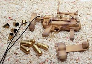 M320 Grenade Launcher Set (desert camo pattern)