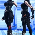 Assassin Bodysuit Set (Black)<BR>PRE-ORDER: ETA Q3 2020