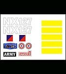 Action Man Helicopter<BR>Decal Set