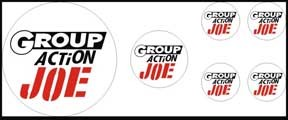 Group Action Joe (France)<BR>Decal Set