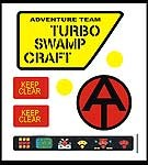 Turbo Swamp Craft Decal Set