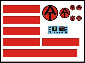 AT Helicopter Decal Set