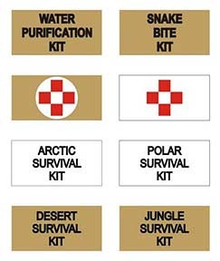 Adventurer Pouch Decal Set