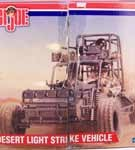 Desert Light Strike Vehicle w/Exclusive G.I. Joe Figure