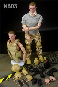 Injured Marine Figure Set (See Note **)