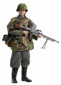 Heinrich Sager: Totenkopf Light Machine Gunner