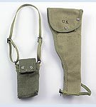 US Rigger Modified M3 Ammo Pouch, M1 Carbine Drop Sleeve