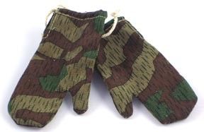 German Splinter Camo'd Winter Mittens