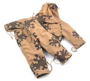 Russian Camo Oversmock and Pants (brown)<BR>