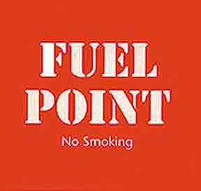 Sign: Fuel Point