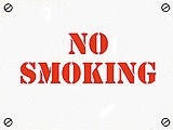 Sign: No Smoking