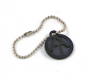 Dog Tag: Adventure Team Replica with Chain (Black)