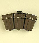 Pouch: German KAR 98 Ammo, Brown (Resin)