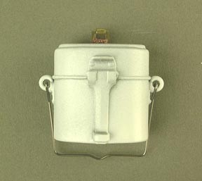 German Mess Kit Whitewashed Mess Kit