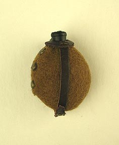 WWI German Water Bottle with Cover<BR>