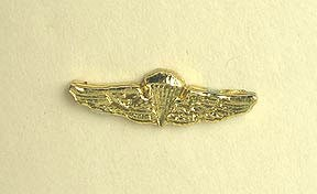 Badge: U.S. Navy/USMC Parachute Wings