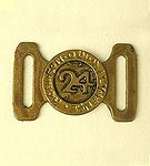 British 24th of Foot Belt Buckle