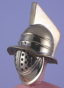 Helmet: Myrmillo Gladiator- Brass Finish