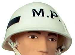 Helmet: US Military Police Black Stripe (Hasbro-Style)