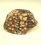 Helmet: German Pea Camo, Removable Cover<BR>