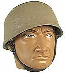 Helmet: German Fallschirmjager Tan