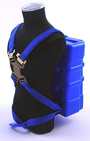 Parachute Rig with Straps (Blue)
