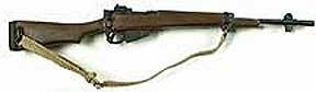 Rifle: British  Enfield Jungle Carbine
