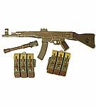 German MP-44 Assault Rifle set