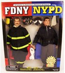 Real Heroes FDNY/NYPD 2 Figure Set