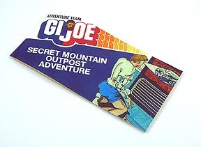 Secret Mountain Outpost<BR>Mini Comic Book<BR><B>December Catalog Special</B>