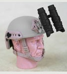 FAST Ballistic Helmet with NVG (Urban Tan)