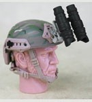 FAST Ballistic Helmet with NVG (MultiCam)