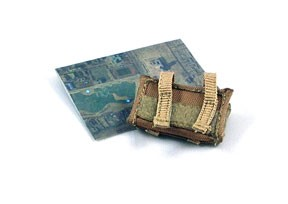 AOR1 Camo Wrist Map Holder with Map<BR>