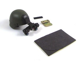 MICH Helmet with Night Vision Gear<BR>