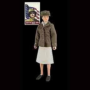 Eleanor's Girls: WWII WAAC Figure