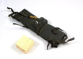 Rifle Drop Bag with Wood Block<BR>