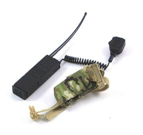 Radio with Handset & Camouflaged Radio Pouch<BR>