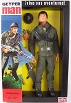 Commando Figure Set<BR>(Muscle Body)