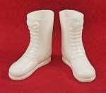 Tall White Boots - 60's Hasbro Style