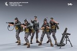 WWII German Gebirgsjager Soldiers 5 Figure Set (1:18 Scale)<BR>PREORDER: ETA Nov. 2020