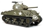 M4A3 105mm Howitzer / M4A3(75)W (2 in 1)  Sherman Tank w/M2 .50-cal, Model Kit (1:6 Scale)<BR>PRE-ORDER: ETA Aug.2020