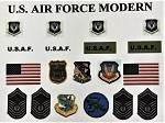 US Air Force Modern Insignia Set