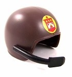 Helmet: Tanker with Decal and Mic<BR>