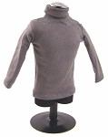 Turtleneck Sweater, Gray