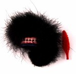 Feather Bonnet w/Hackle: Black Watch
