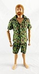 Safari Short-Sleeve Shirt & Cargo Shorts Set (Duck Hunter)